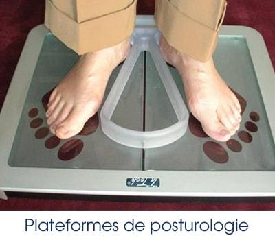 Plateformes de Posturologie